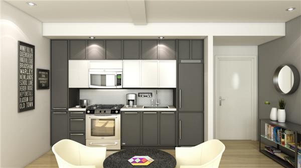 Kitchen in Apartment in 426 West 52nd Street, Manhattan