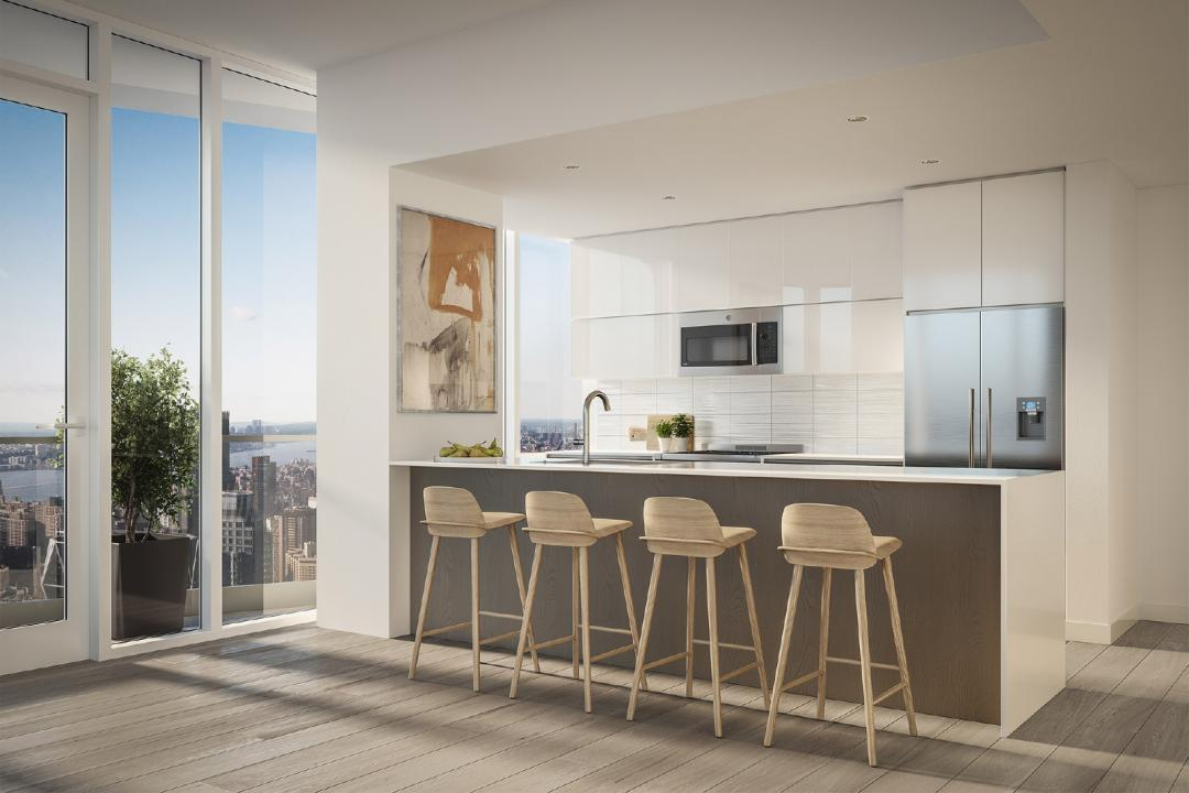 Kitchen at Aro - 242 West 53rd Street