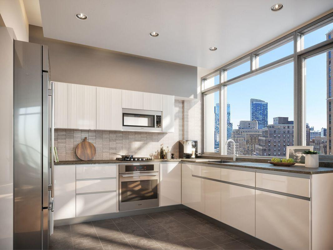 Kitchen at ML House - 1050 Sixth Avenue