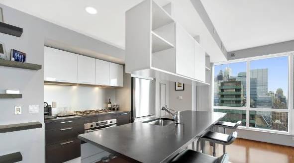 Kitchen with View - Luxury Rentals at Orion Clinton