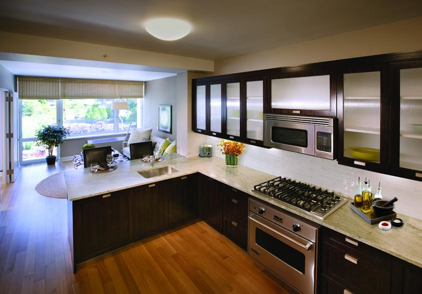 Kitchen at The Rushmore - 80 Riverside Boulevard