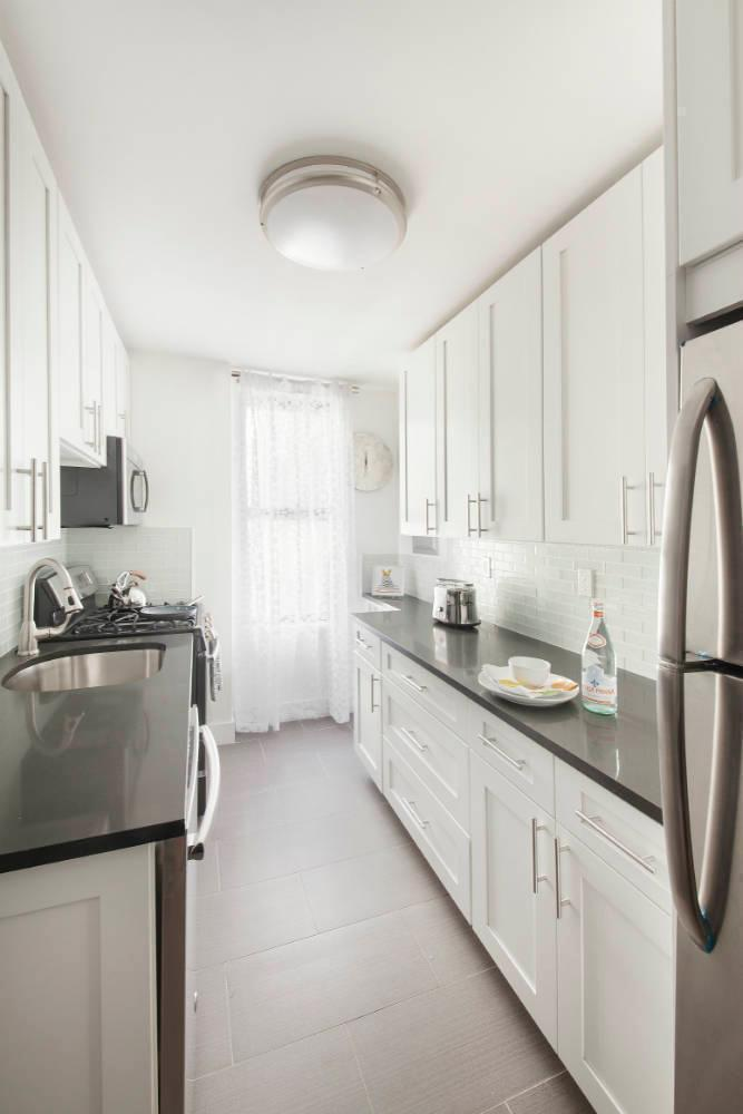 Kitchen - The Branson at Fifth - Luxury Rental Manhattan