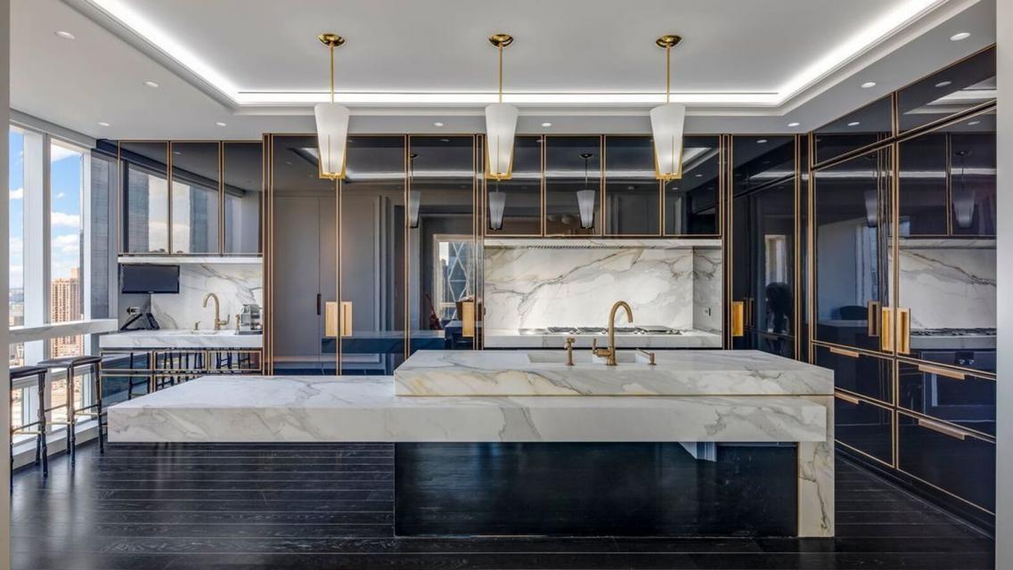 Kitchen at Trump International - 1 Central Park West