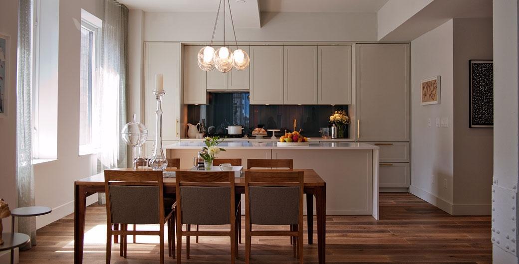 Kitchen/ Dining Room- 93 Worth Street