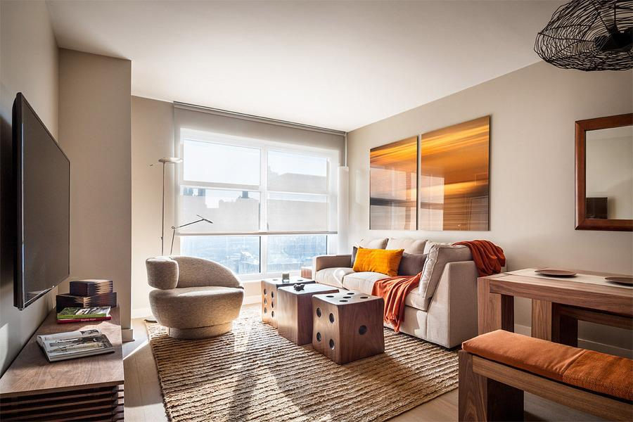 Living-room - 500 West 30th Street - Chelsea