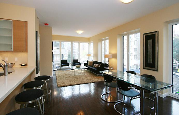 Isis Living Room - Manhattan Condos for Sale