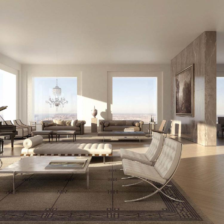 Living Room- 432 Park Avenue- apartments for rent in Midtown