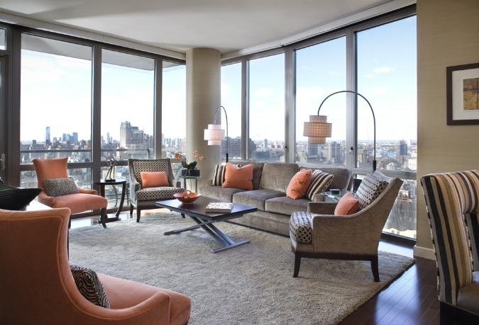 Living Room at Chelsea Stratus - Apartments for Rent - Manhattan