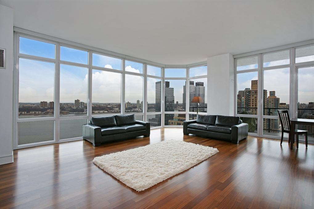 10 West End Avenue Living Room - NYC Condos for Rent