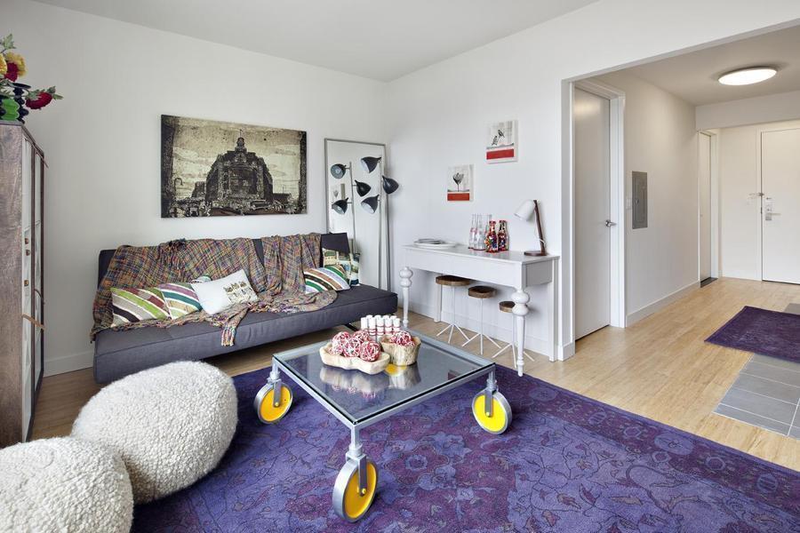Livingroom - Luxury Condos Williamsburg