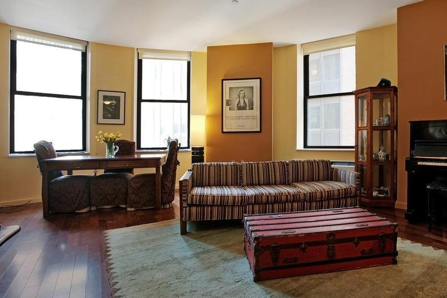 1 Wall Street Apartments for Rent - Living Room - Financial District