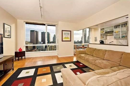 200 Chambers Street Living Room - NYC Condos