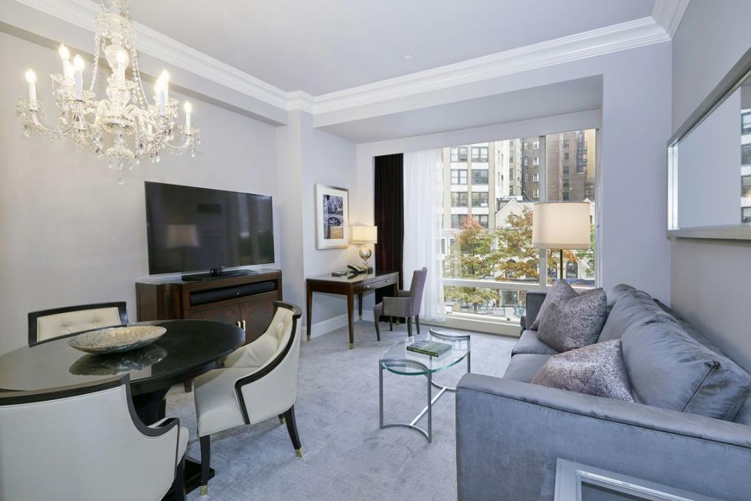 Living Room at Trump International - 1 Central Park West