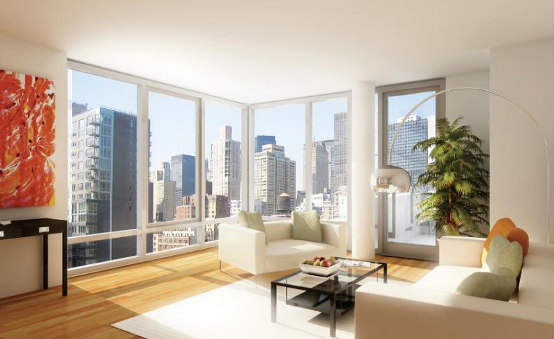 Apartments for rent at 303 East 33rd Street - Living Room