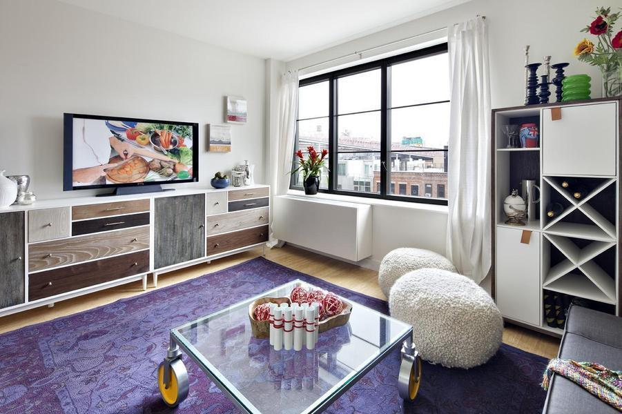 Living Room - 15 Dunham Place Williamsburg
