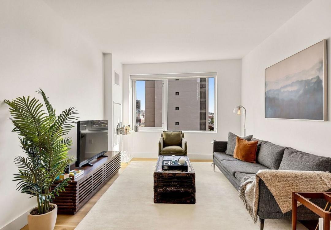 Living Room at 241 Atlantic Avenue