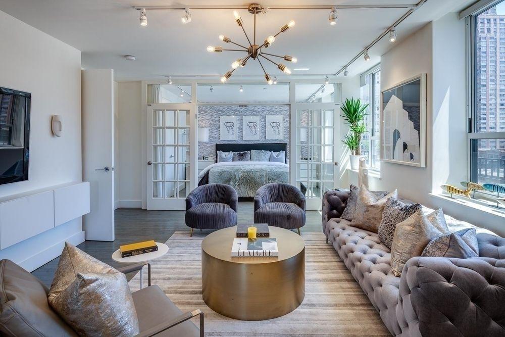 Living Room at Nine52 - 416 West 52nd Street