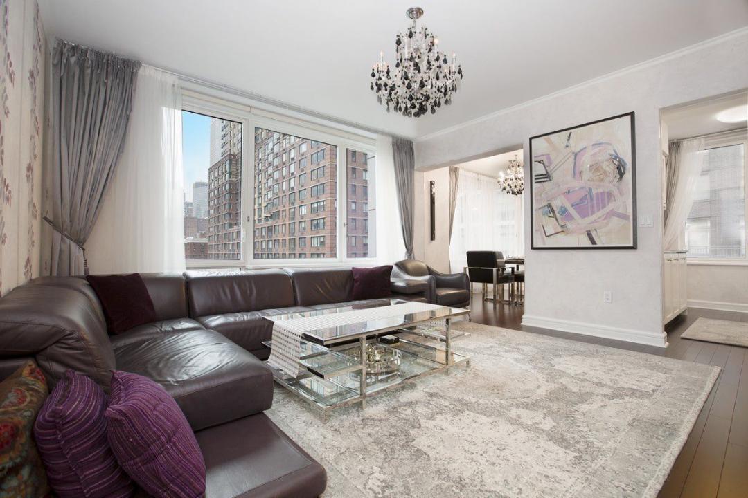 Living Room at The Rushmore - 80 Riverside Boulevard