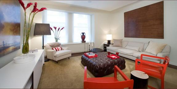 Cipriani Club Residences Classic Living Room - Condos for Sale NYC