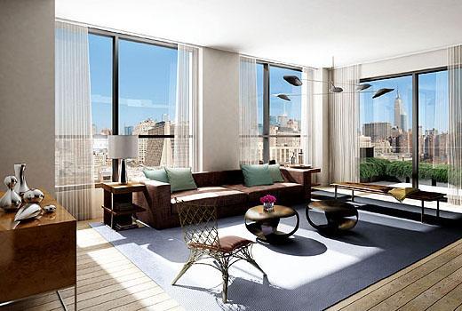 +Art Condominiums - Living Room