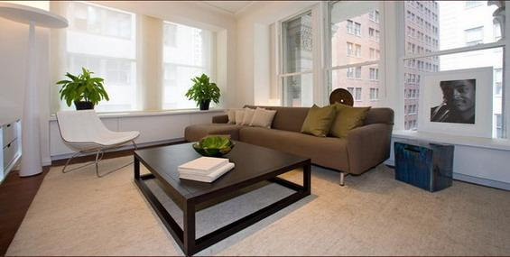 Cipriani Club Residences Manhattan - Sleek Living Room