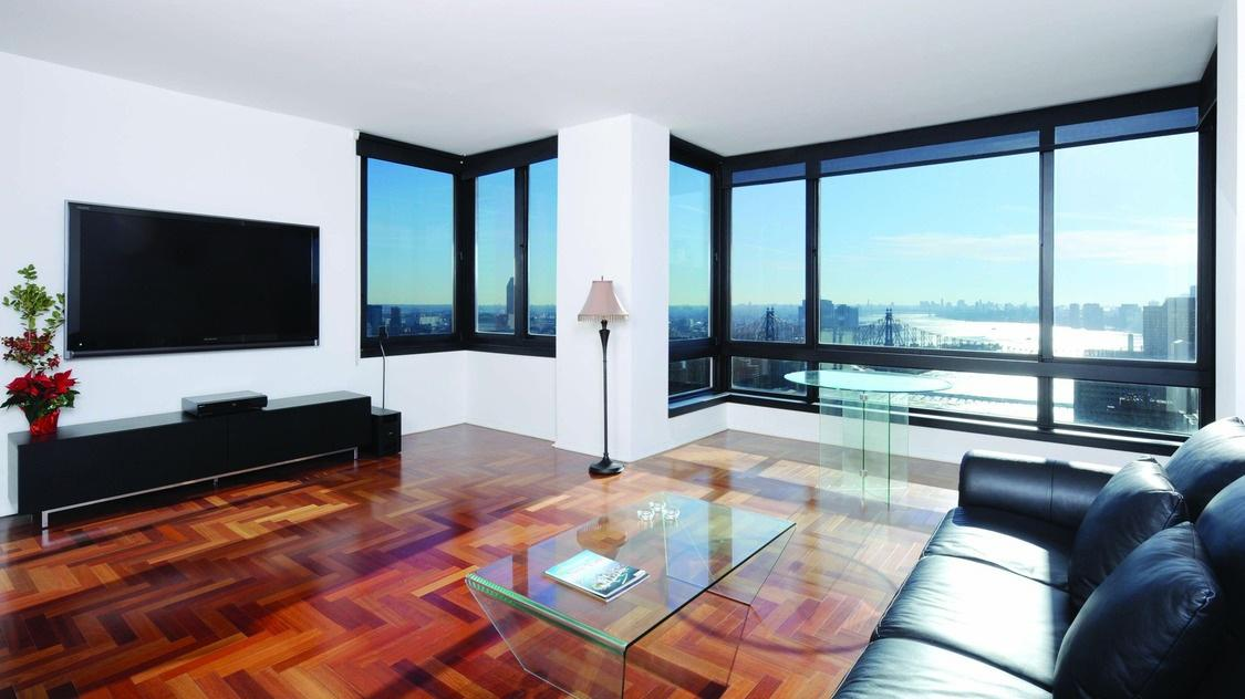 Living Room at The Belaire - 524 East 72nd Street