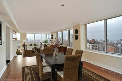Living Room at The Caroline - 60 west 23rd street NYC