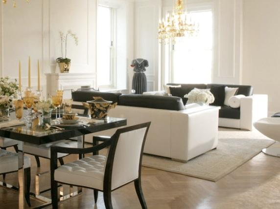 The Plaza Residences Living Room - New Condos for Sale NYC