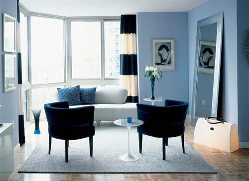 Living Room - Luxury Apartments for Rent - The Victory