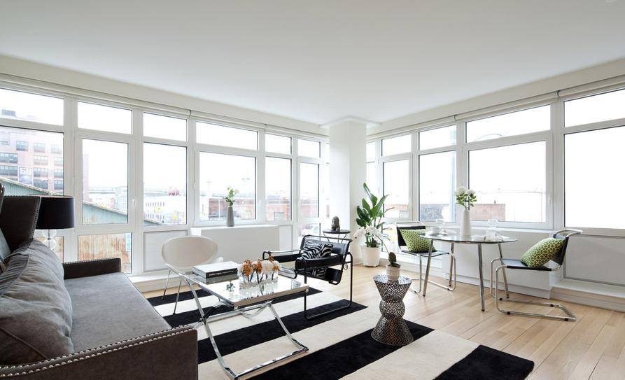 73 Living Room Williamsburg Brooklyn Ny 175 Kent Avenue New York Interior Photographer
