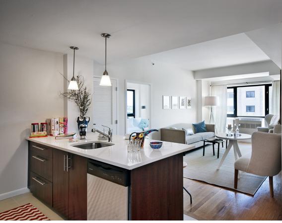 Exo Astoria Living Room-Queens Rentals in Astoria at 26-38, 21st Street