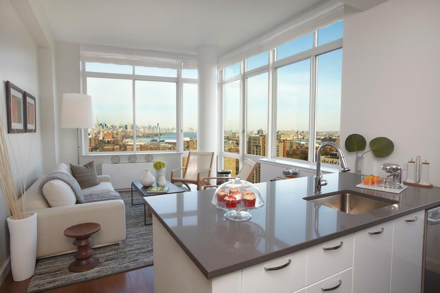 Living Room with View - Condominiums for Rent in BKLN