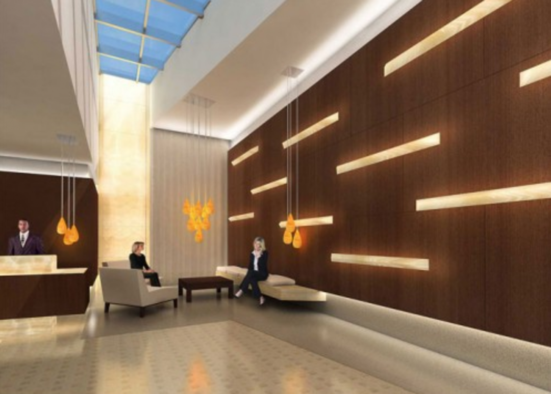 Lobby - Icon - Clinton Luxury Rental Apartments