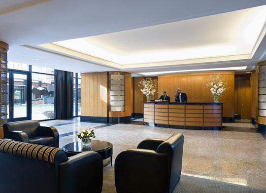 Tribeca Park Lobby - Manhattan Apartments for rent