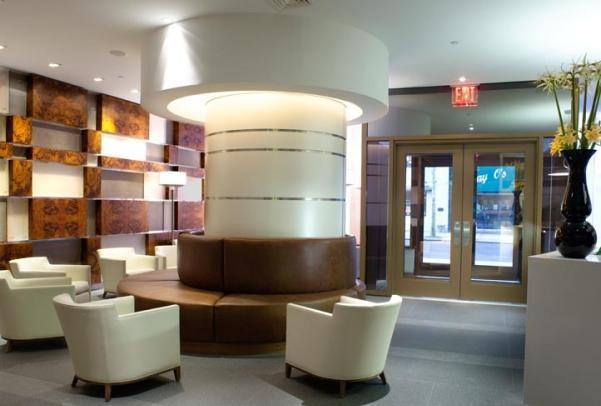 Lobby at Brooklyner - Condos for Rent in Downtown Brooklyn