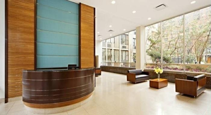 Lobby at Gateway Plaza - 395 South End Avenue