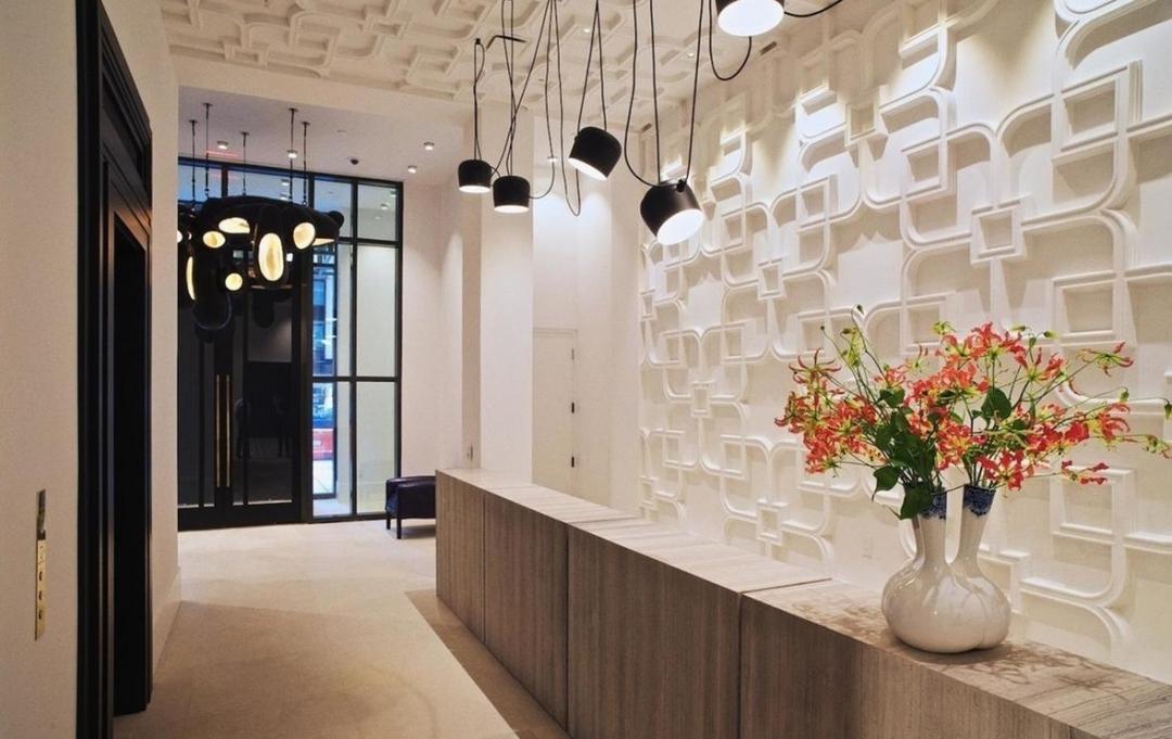 Lobby at Huys - 404 Park Avenue South