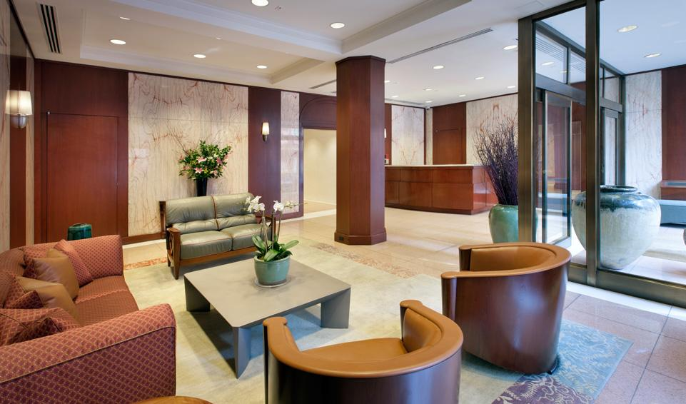 Kenton Place Lobby- Rental Apartments in Lenox Hill