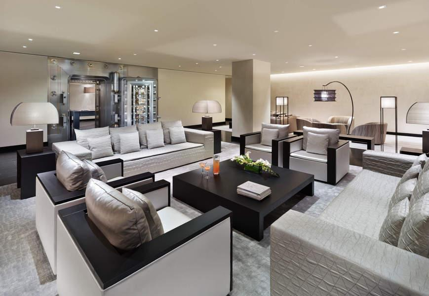Lobby at The Collection - FiDi Apartments