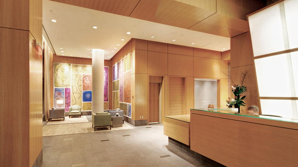 Lobby at The Centria - 18 West 48th Street