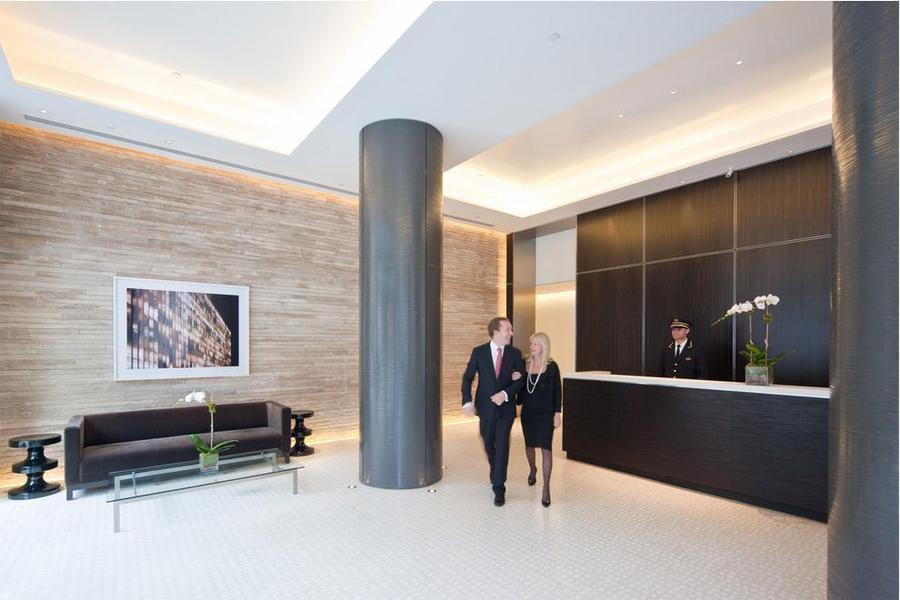 Lobby at The Laurel - 400 East 67th Street