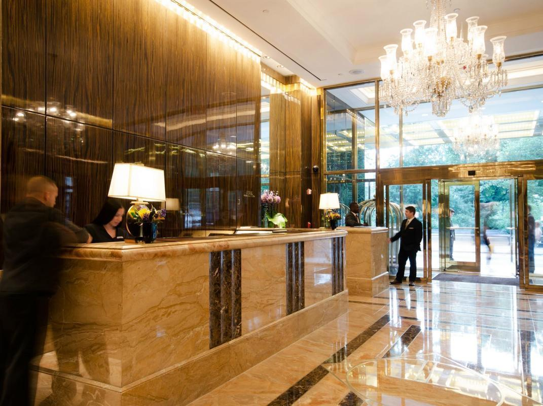 Lobby at Trump International - 1 Central Park West