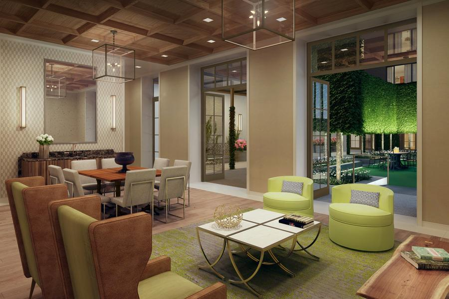 Lounge- 101 West 87th Street- apartments for rent in nyc