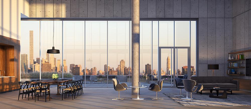Condos for rent at Aurora in Long Island City - Sky Lounge