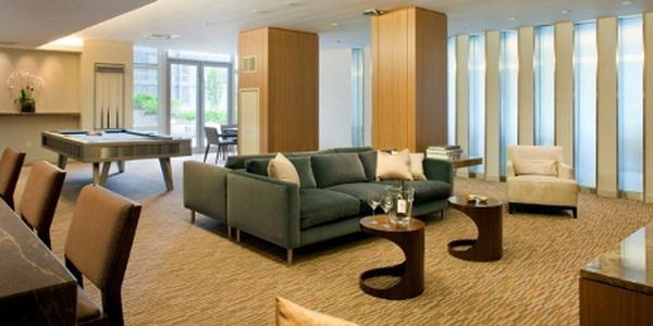 Element Condominium Lounge – Condominiums for Sale NYC