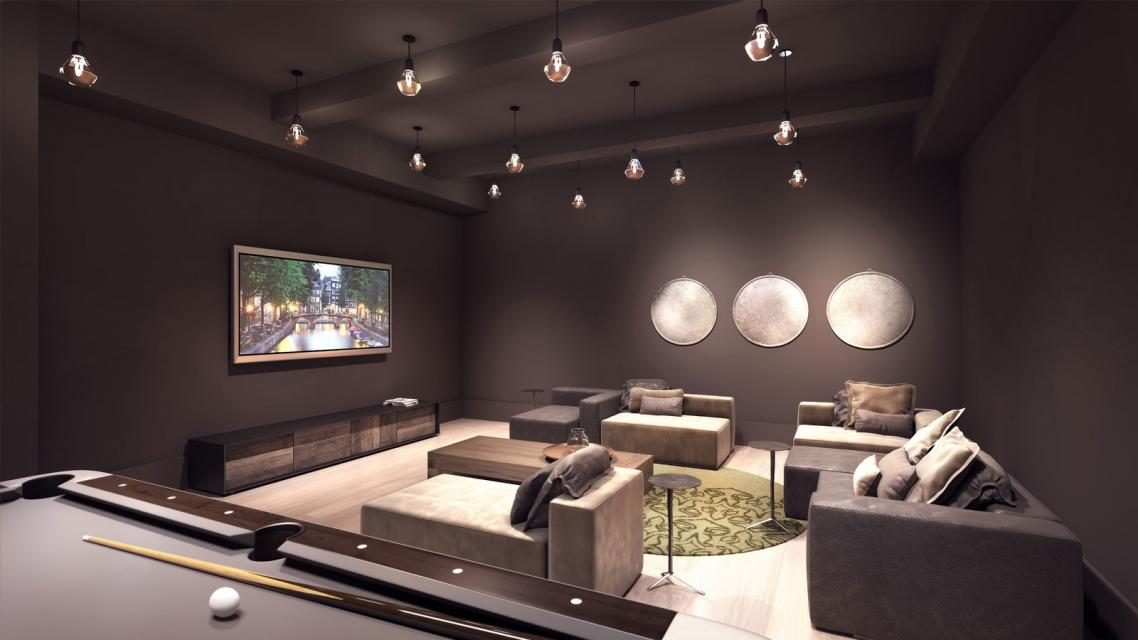 Entertainment Area at Huys - 404 Park Avenue South