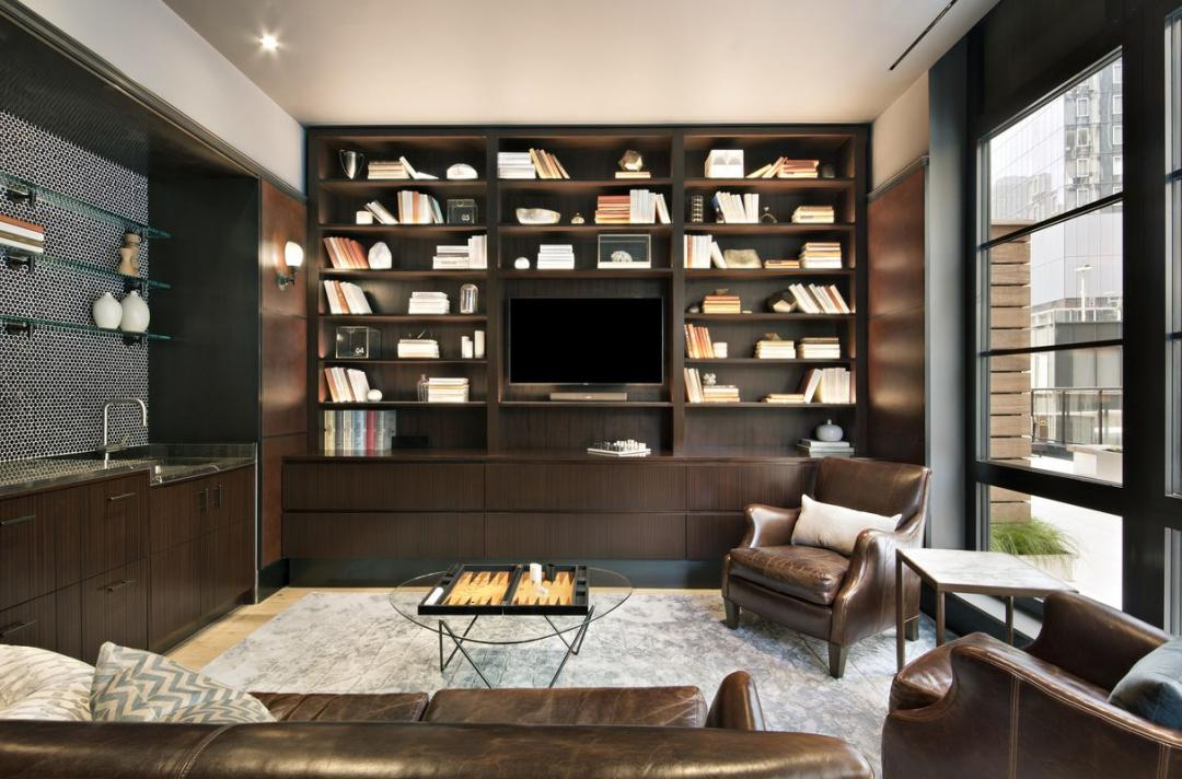 Lounge/Library at The Noma - 50 West 30th Street