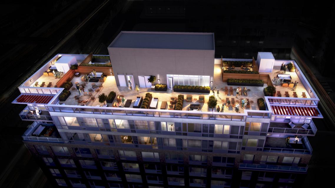 Apartments for rent at The Luna in Long Island City - Rooftop Deck