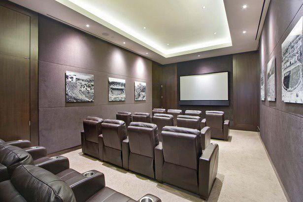 Media Room at The Rushmore - 80 Riverside Boulevard