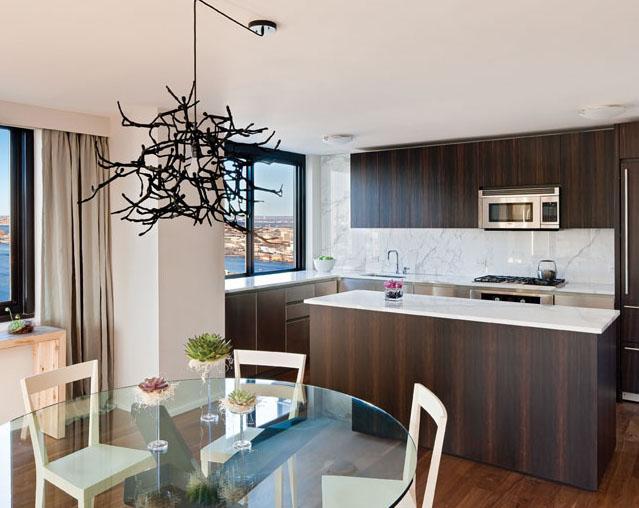 515 East 72nd Street New Construction Condominium Kitchen Area